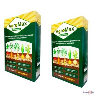 Добриво Агромакс (комплект 2 упаковки по 12 саше), мінеральне біодобриво