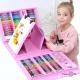 """Дитячий набір для малювання """"208 PCS"""" (EN) Рожевий (для творчості)"""