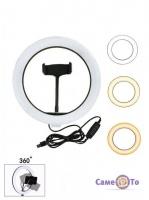 Селфі LED кільце з тримачем для телефону Ring light 26