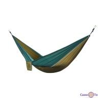 Подвесной гамак туристический - походный гамак качеля, цвет Хаки