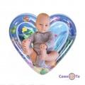 """Водний килимок для дітей, що розвиває, """"Серце"""" надувний акваковрік і для немовляти"""