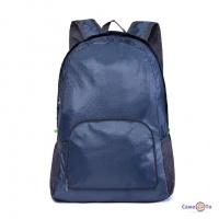 Водонепроникний рюкзак сумка - похідний рюкзак трансформер, синій