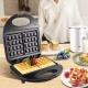 Электрическая вафельница Domotec MS-7705