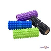 Спортивний масажний ролик з маленькими секціями