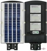 Світильник з датчиком руху на вулицю - прожектор на сонячній батареї UKC-5623
