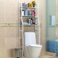 Стелаж над унітазом (метал, білий, TM-101) полиці в туалет