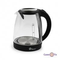 Скляний чайник з підсвічуванням на 2 літри Domotec MS-8110