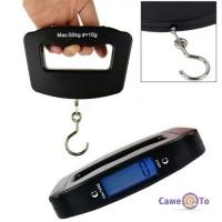 Ручні електронні ваги з гачком для багажу - кантер Luggage Scale 50 kg