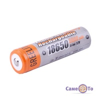 Aкумулятор 18650 GreeLite Li-ion 3.7V (5800 mAh)   акумуляторні батарейки