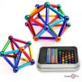 "Магнітний конструктор неокуб ""Neo Mix Color"" кольоровий (36 кольорових паличок, 27 кольорових кульок)"