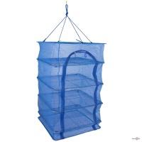 Сітка для сушіння риби, фруктів, ягід, овочів на 4 полочки, 40х40х70 см.
