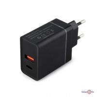 Блок для зарядки телефону 220V USB / TYPE C