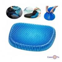 Ортопедична гелева подушка на стілець Egg Sitter 39х32 см