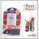 Ультразвуковий відлякувач гризунів та комах Pest Reject: комплект 2 шт.