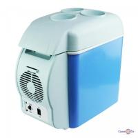Автомобільний холодильник на 7.5 л - компактний холодильник для машини, 65W 12 V