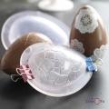 Кондитерская 3D форма для создания шоколадных яиц - молд для шоколада