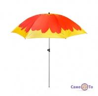 Складана пляжна парасолька посилена 1.8 м гербера