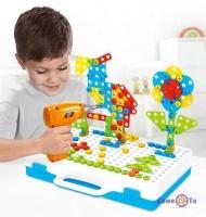 Дитячий конструктор для хлопчиків Creative Puzzle 4in1