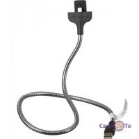 Гнучке кріплення для телефону в авто - lightning кабель Fuse Chicken