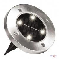 Уличный фонарь на солнечной батарее Bell Howell Disk lights (4 led)