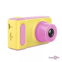 Дитячий фотоапарат Summer Vacation Cam - перший фотоапарат для дитини, Жовтий