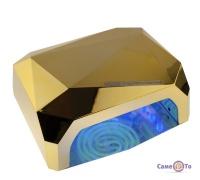Лампа для манікюру Beauty nail CCF + LED - лампа для гель лаку, 36 Вт