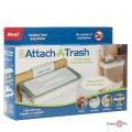 Держатель мусорных пакетов Attach-A-Trash - навесная корзина для мусора
