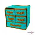 Складной органайзер с ящиками для хранения нижнего белья