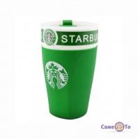 Starbucks термокружка - термочашка Cтарбакс, з поїлкою