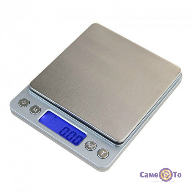 Цифровые весы Domotec MS-1729 - весы электронные, до 500 г