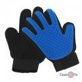 Перчатка для вычесывания животных True Touch Deshedding Glove (перчатка для шерсти)