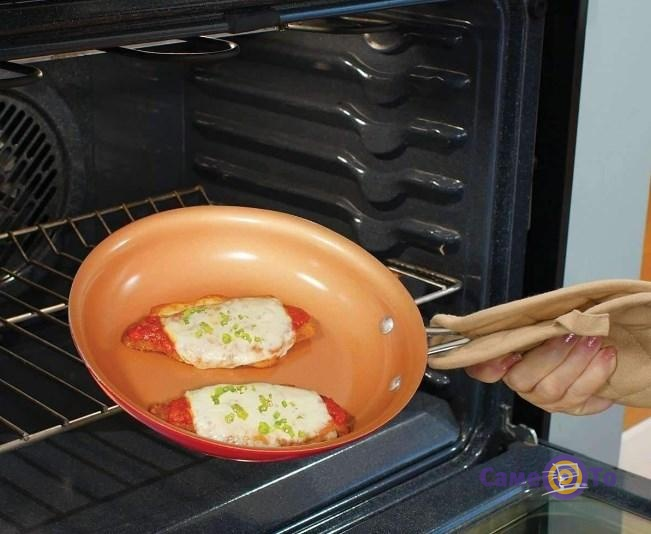 Антипригарная сковорода Cookware pan Ceramic - сковорода с керамическим покрытием, 24 см