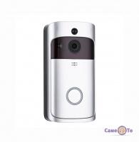 Відеодомофон WiFi Smart Doorbell CAD UKC M6 1080p - дверний дзвінок з камерою