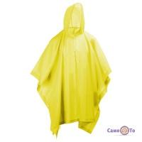 Дощовик туристичний пончо з капюшоном - накидка від дощу