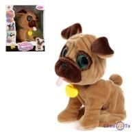 Интерактивная игрушка Умный питомец - коричневая собака интерактивная