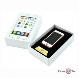 Электрозажигалка Apple iPhone Style - спиральная USB зажигалка
