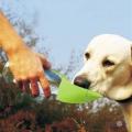 Дорожня пляшка поїлка для собаки (силікон) портативна поїлка для собак