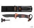 Туристический нож для выживания с серрейтором в ножнах Gerber Bear Grylls Knife (реплика)