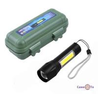 Cветодиодный фонарь COP BL-511 158000 W - мощный аккумуляторный фонарь c USB