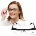 Пластмассовые очки с регулировкой диоптрий линз Dial Vision