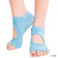"""Шкарпетки для йоги та фітнесу антиковзкі з відкритими пальцями """"Yoga socks"""" 35-38 р."""