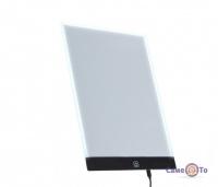 Світловий планшет - дитячий планшет для малювання, розмір А4
