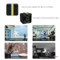 Маленька прихована камера відеореєстратор для дому та в авто SQ11 Mini Sports HD DV 720p