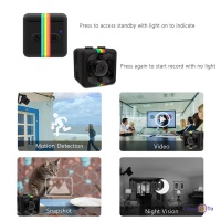 Маленькая скрытая камера видеорегистратор для дома и в авто SQ11 Mini Sports HD DV 720p