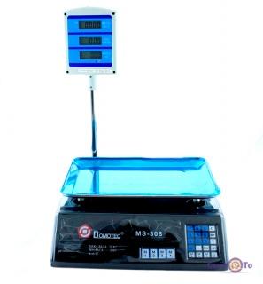 Ваги електронні торгові Domotec MS-308 - точні товарні ваги до 50 кг