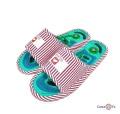 Ортопедические массажные тапочки с шипами Dolphin Factory, размер 36-38 / 40-41