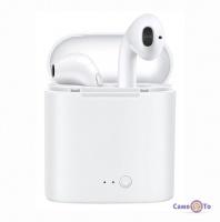 Бездротові навушники для iPhone і Android i7 Mini TWS (Сopy) - відмінний аналог Airpods