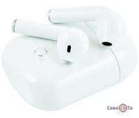 Бездротові навушники для спорту Airpods Bluetooth i8S-TWS (Сopy), + кейс PowerBank