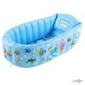 Надувна ванночка дитяча з насосом Century spring 90х55х25 см