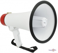 Рупорный громкоговоритель с микрофоном Megaphone ER-55U 25 W (рупор)